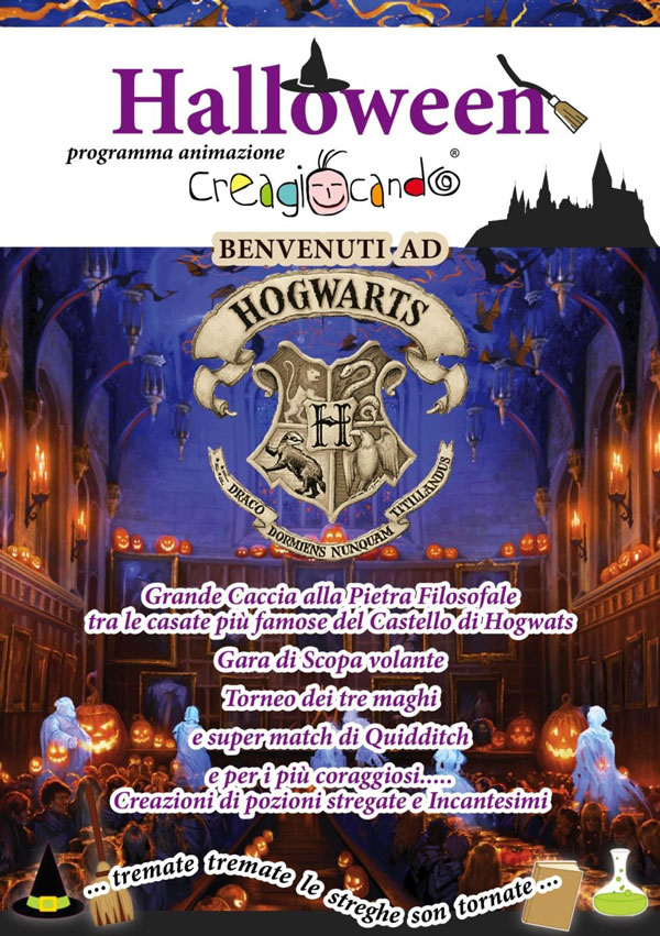 Halloween: Welcome to Hogwarts