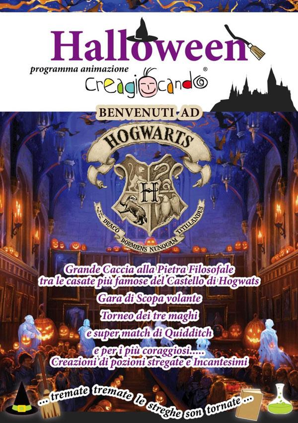 Halloween: Benvenuti ad Hogwarts